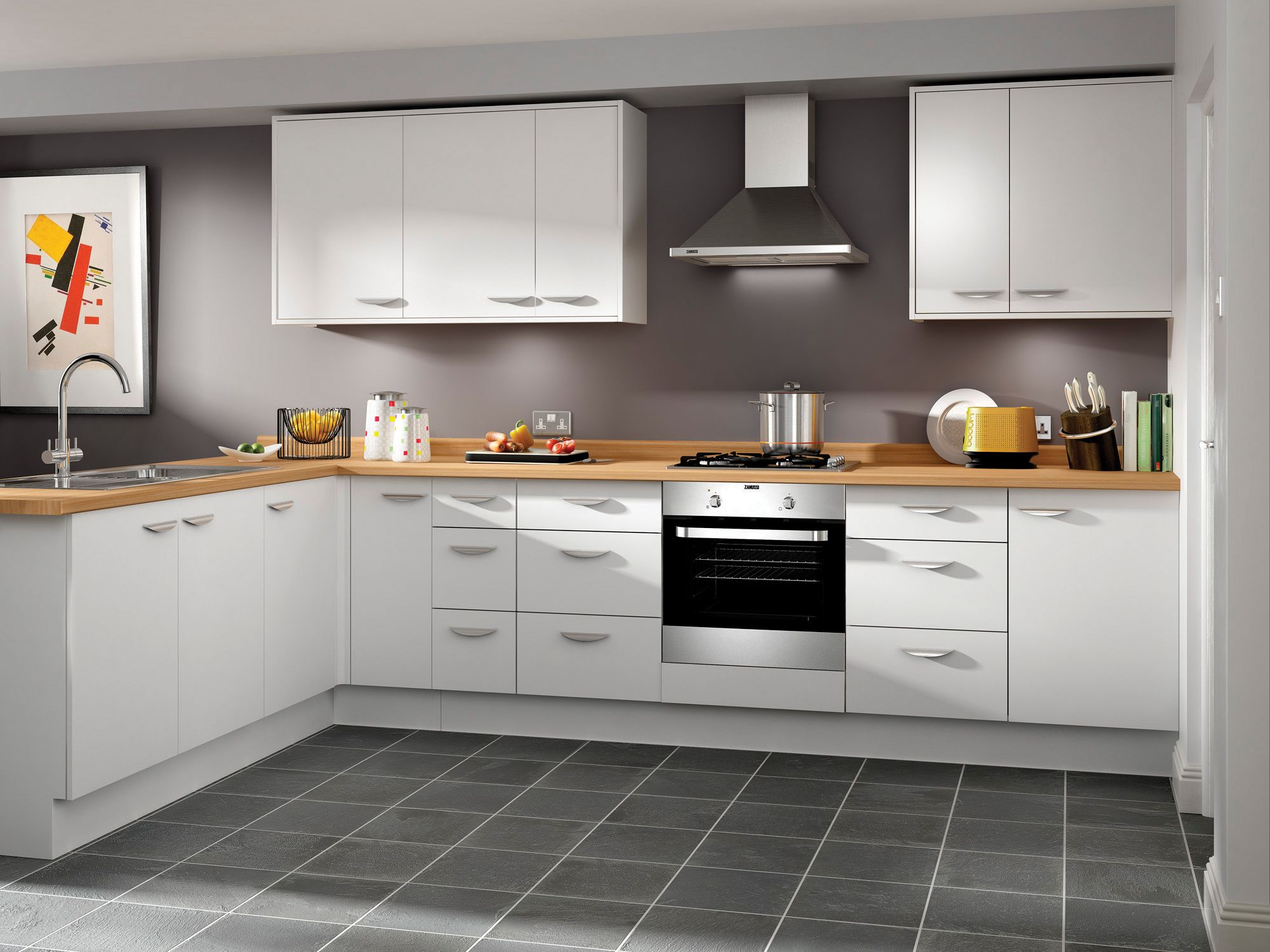 Dakota Contemporary Kitchens Wickes Co Uk