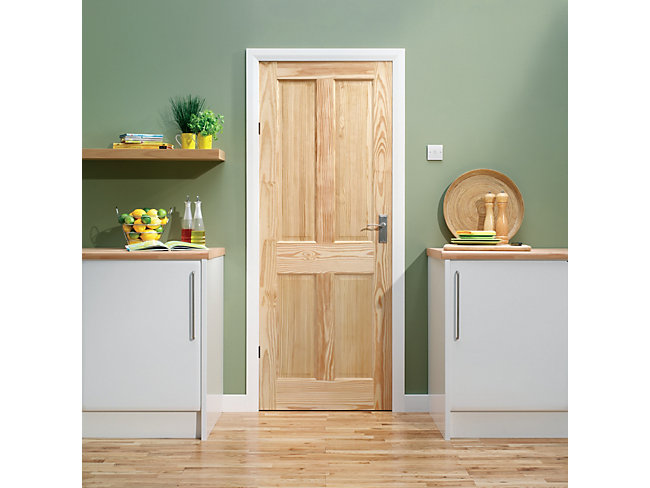 Skipton Clear Pine Door 1981x762mm