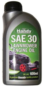 The Handy SAE 30 Lawnmower Engine Oil - 600ml | Wickes co uk