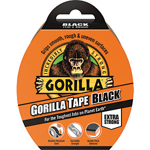 Image of Gorilla All Purpose Tape 11M Black