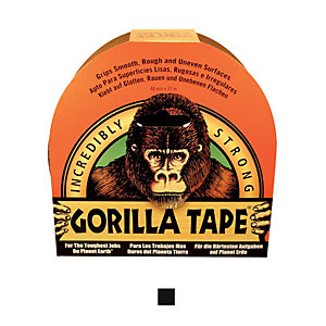 Image of Gorilla All Purpose Tape 32M Black