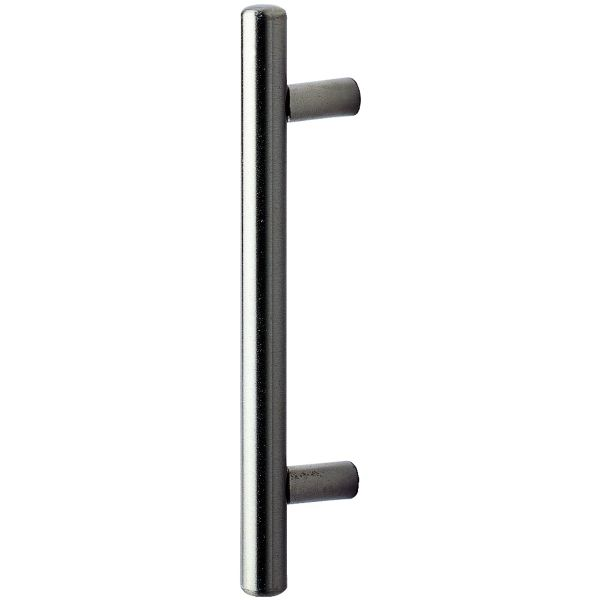 Wickes Stainless Steel Satin Nickel Bar Handle for Bathrooms - 96mm