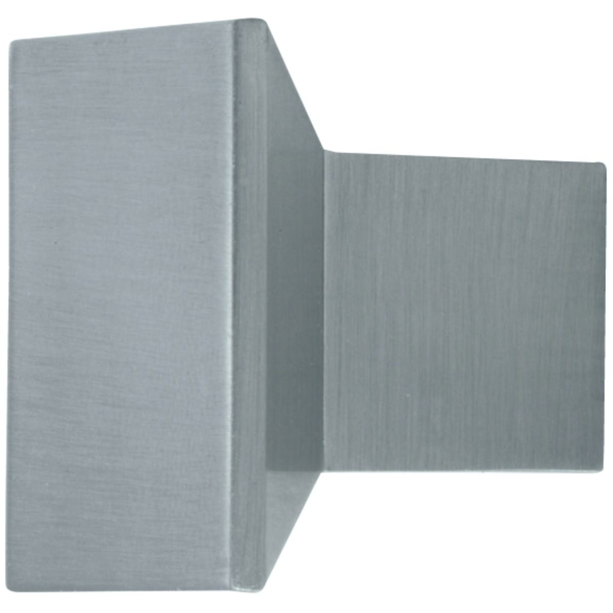 Wickes Bathroom Unit Square Knob Handle   Stainless Steel 35mm by Wickes