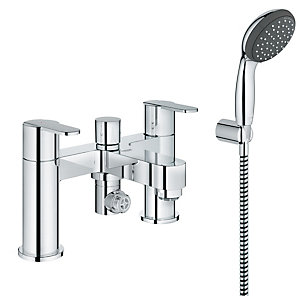 Grohe Get Bath Shower Mixer Tap - Chrome