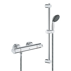 Grohe Get Thermostatic Bar Mixer Shower System - Chrome