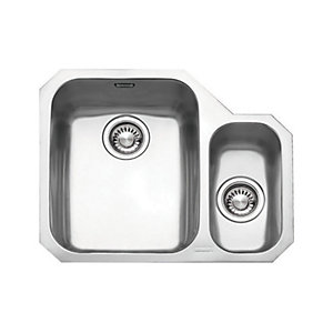 Franke Ariane 1.5 Bowl RHD Stainless Steel Kitchen Sink