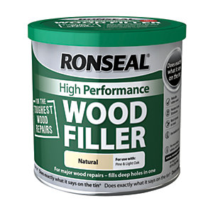Ronseal High Performance Wood Filler - Natural 550g