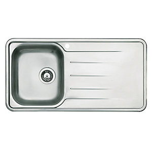 Modo 1 Bowl Kitchen Sink - Stainless Steel