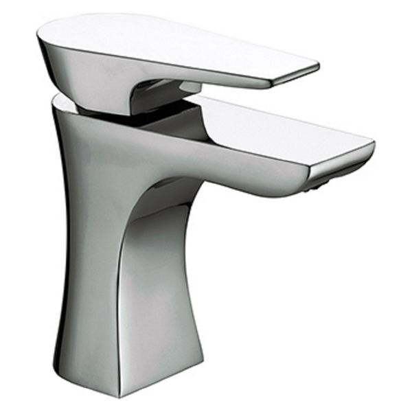 Bristan Hourglass Chrome Basin Mixer Tap with Clicker Waste
