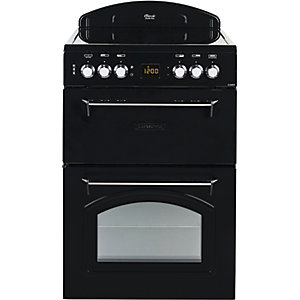 Image of Leisure Classic 60cm Electric Cooker CLA60CEK - Black