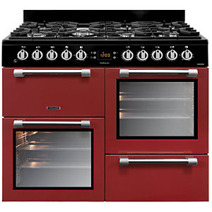 Image of Leisure Cookmaster 100cm Dual Fuel Range Cooker CK100F232R - Red