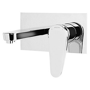 Bristan Claret Wall Mounted Basin Mixer Tap - Chrome