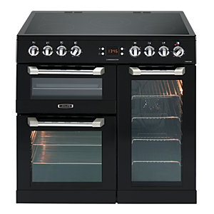 Image of Leisure 90cm Cuisinemaster Electric Cooker Black