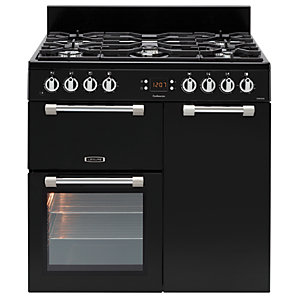 Image of Leisure Cookmaster 90cm Dual Fuel Range Cooker - Black