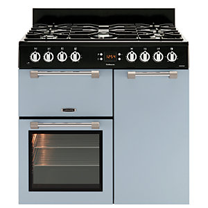 Image of Leisure Cookmaster 90cm Dual Fuel Range Cooker - Blue