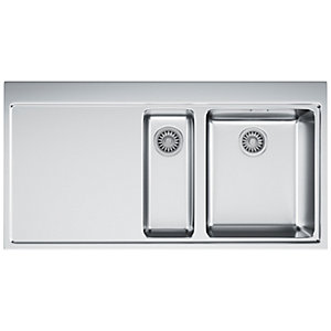 Franke Mythos 1.5 Bowl LHD Stainless Steel Kitchen Sink