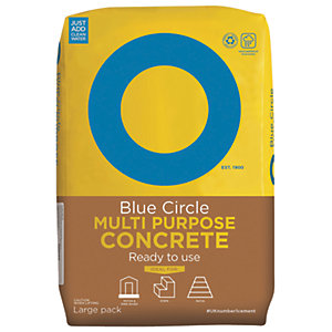 Image of Blue Circle Multi-Purpose Ready To Use Concrete - 20kg