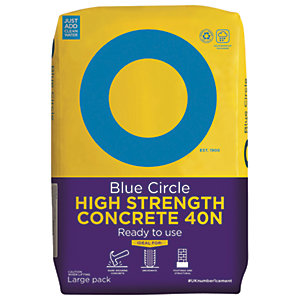 Image of Blue Circle High Strength Ready To Use Concrete (40N) - 20kg