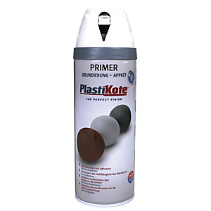 Plastikote Primer Aerosol Spray - White 400ml