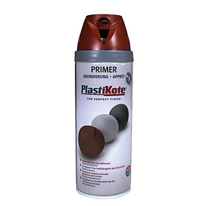 Plastikote Primer Aerosol Spray - Red Oxide 400ml