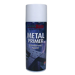 Plastikote Metal Primer Aerosol Spray - White 400ml