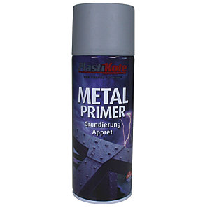 Plastikote Metal Primer Aerosol Spray - Grey 400ml