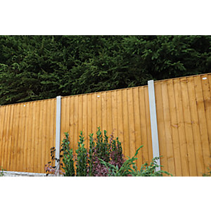 Wickes Dip Treated Featheredge Fence Panel - 6 x 6ft