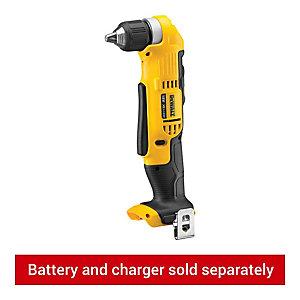 Image of DeWalt DCD740N-XJ XR 18V Cordless Right Angle Drill Driver - Bare
