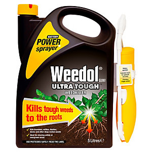 Image of Weedol Ultra Tough Weedkiller Power Sprayer - 5L