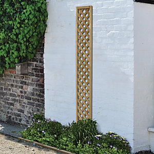 Wickes Diamond Trellis Panel - 1800mm x 300mm