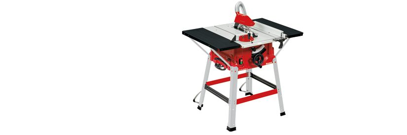 Einhell 250mm Table Saw with Stand & Side Extensions