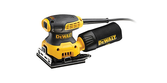 DEWALT DWE6411-GB 1/4 Corded Palm Sheet Sander 240V - 230W