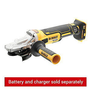 Image of DeWalt DCG405NF-XJ 18V XR Brushless 125mm Flathead Angle Grinder - Bare