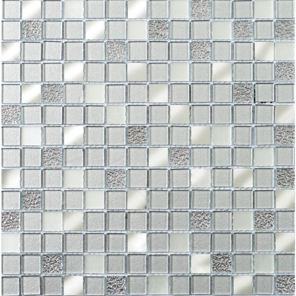 Wickes Mirror Glass Mosaic Tile - 306 x 306mm