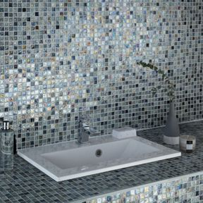Grey Gl Mosaic Tile