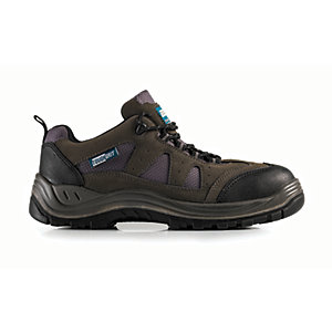 Image of Tough Grit Nevada Safety Trainer - Grey Size 7