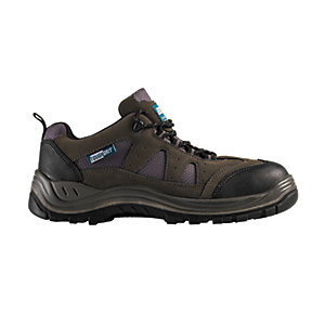 Image of Tough Grit Nevada Safety Trainer - Grey Size 8