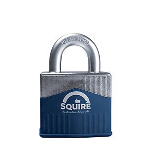 Squire Solid Diecast Body with Boron Shackle Padlock - 55mm