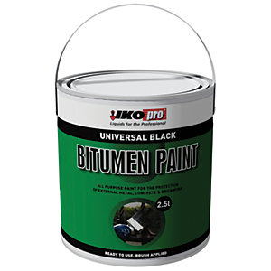 Image of Ikopro Bitumen Paint - Black 2.5L