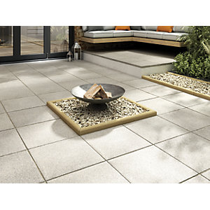 Marshalls Textured Charcoal Paving Slab 450 x 450 x 35 mm
