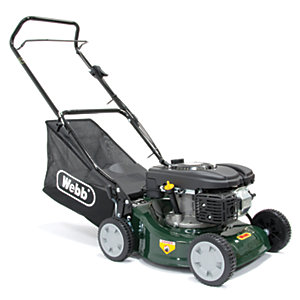 Image of Webb 41cm Push Rotary Petrol Lawnmower