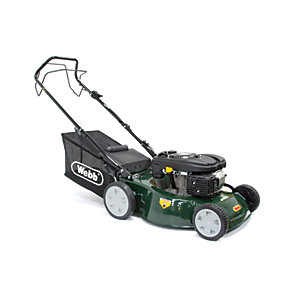 Webb 46cm Self Propelled Petrol Lawnmower