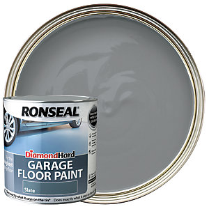 Ronseal Diamond Hard Garage Floor Paint - Satin Slate 2.5L