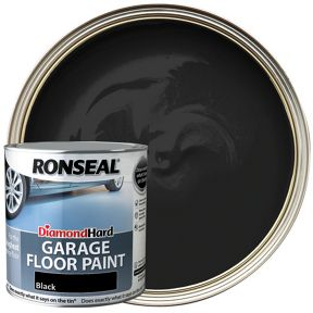 Ronseal Diamond Hard Garage Floor Paint Satin Black 2 5l