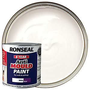 Ronseal Anti-mould Paint Matt White - 2.5l