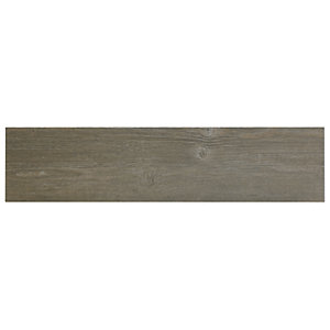 Wickes Heartwood Grey Oak Porcelain Tile 850 x 200mm Sample