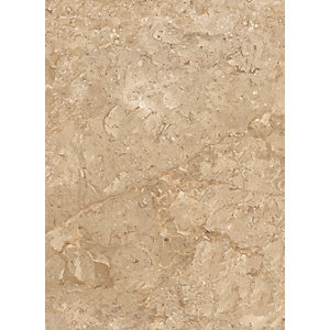 Wickes Avellino Cappuccino Beige Ceramic Tile 360 x 275mm Sample