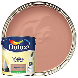 Dulux - Copper Blush - Silk Emulsion Paint 2.5L