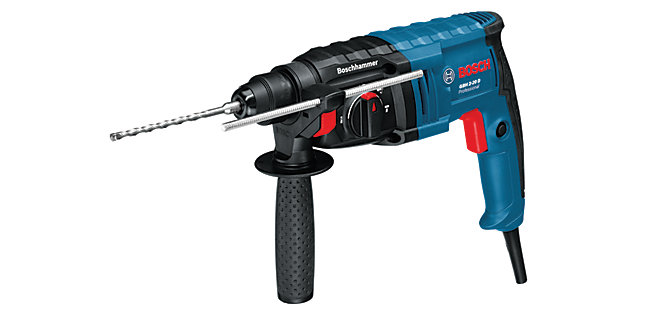 Bosch Professional GBH2 20D SDS+ Corded Rotary Hammer Drill - 650W
