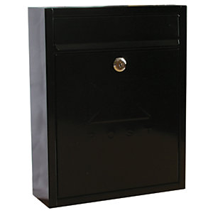 Sterling Compact Post Box - Black